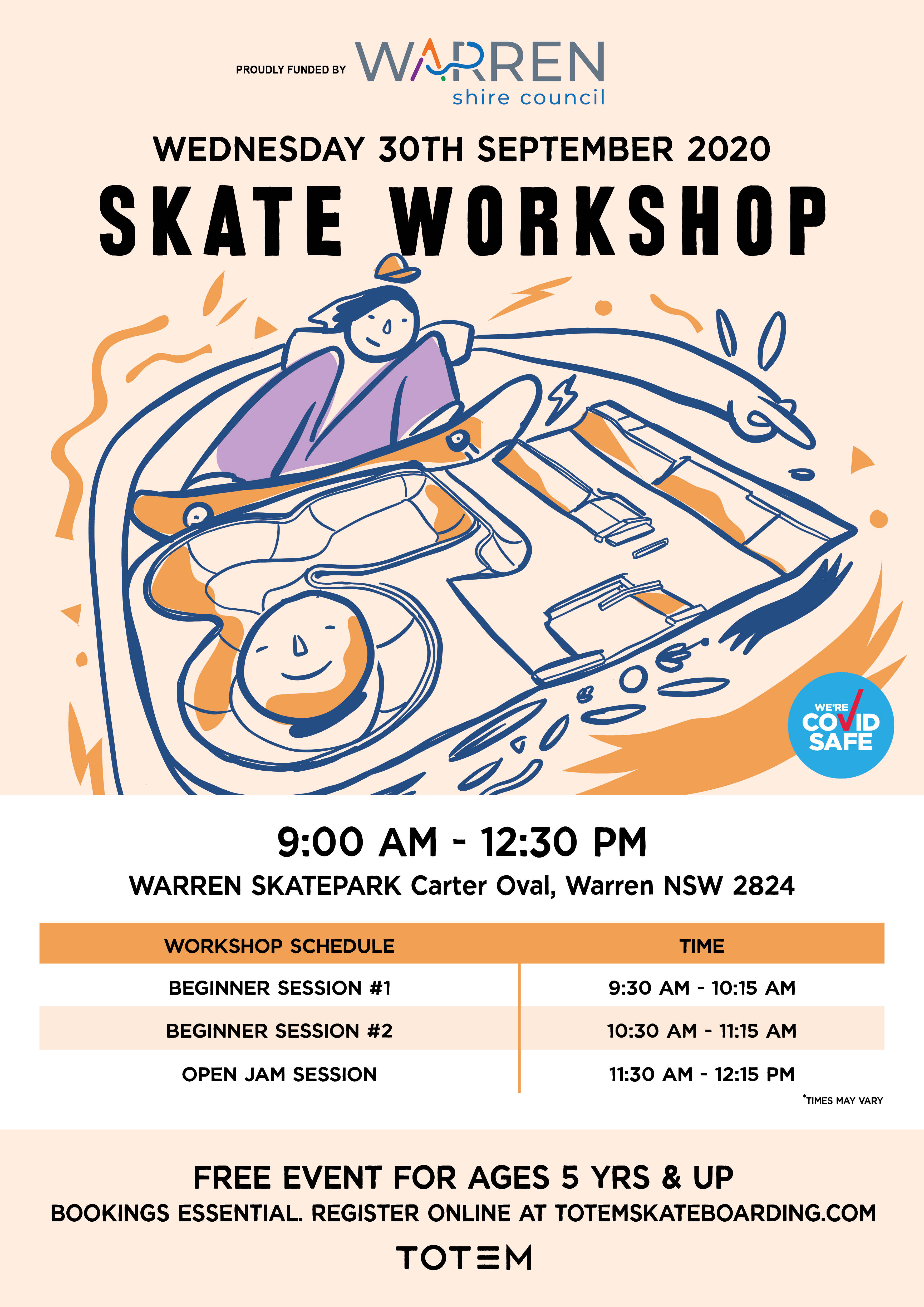 Skate Workshops and Jam Session