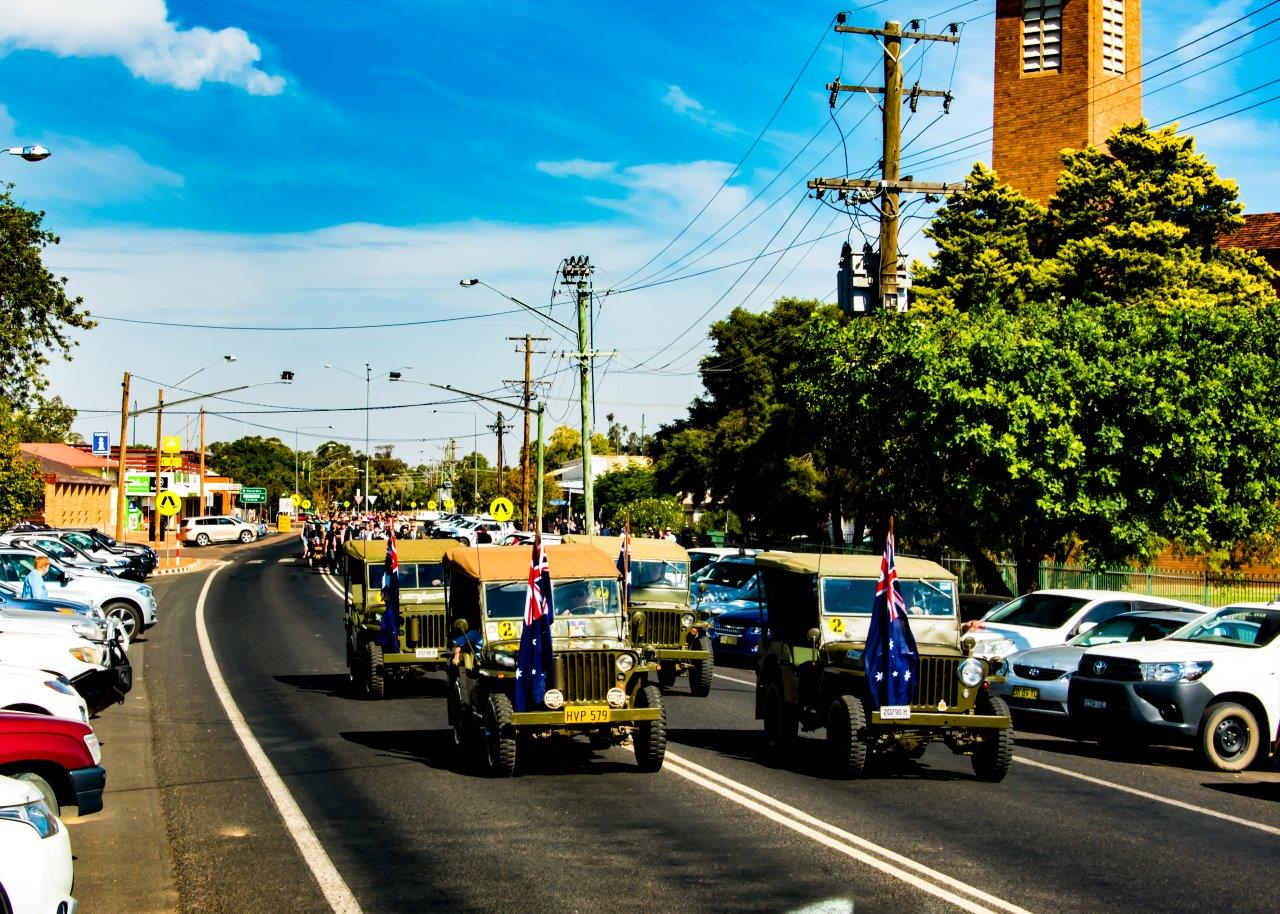 ANZAC Day parade and services