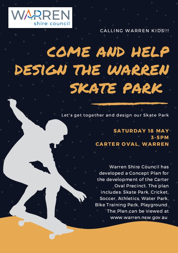 Warren Skate Park Planning Day