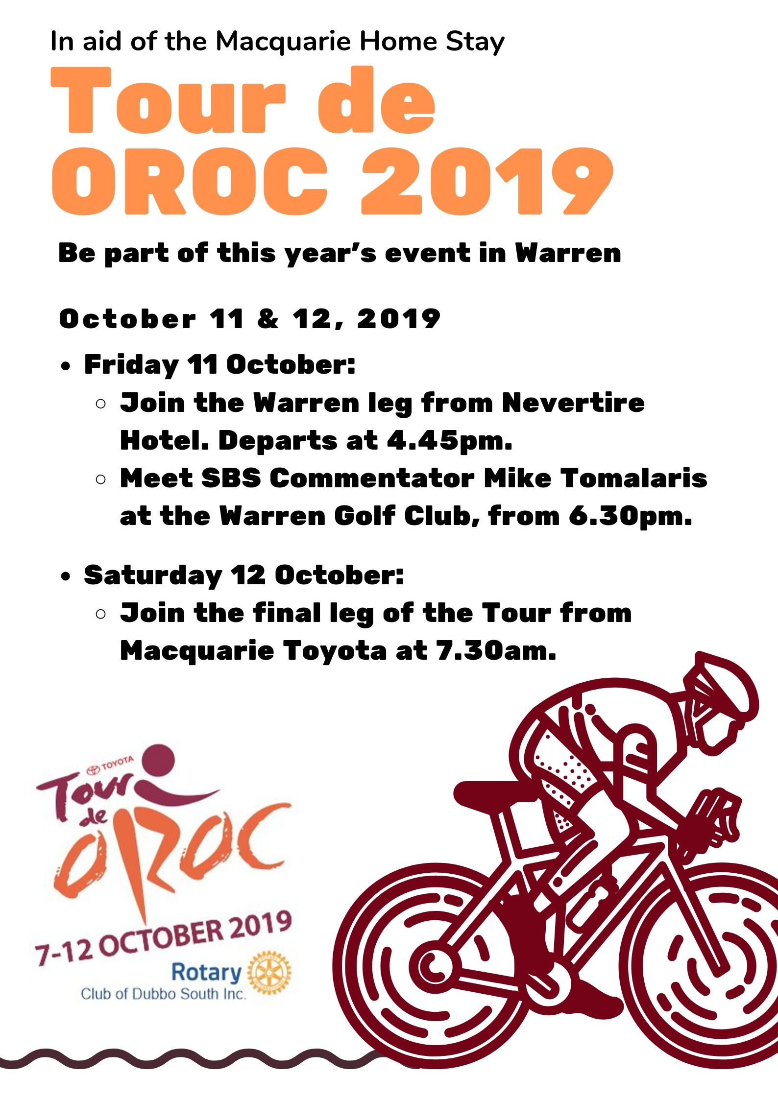 Tour de OROC 2019 - Warren Stage