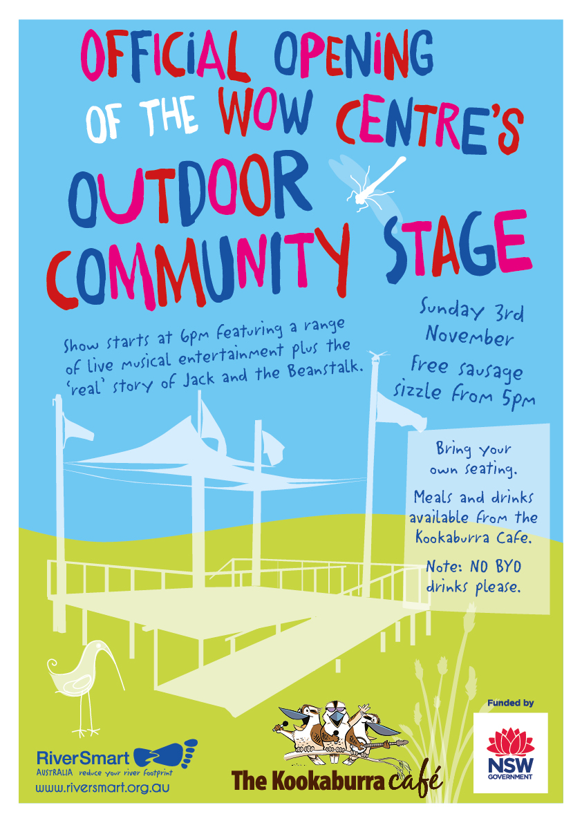 Official Opening - WOW Centre's Outdoor Community Stage